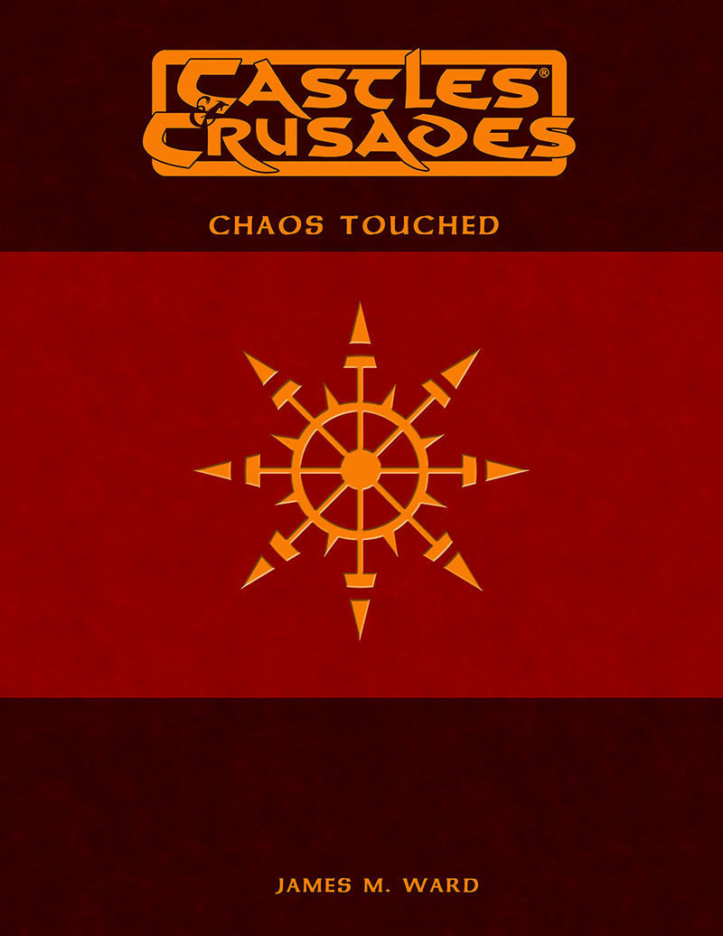 Castles & Crusades Chaos Touched Print