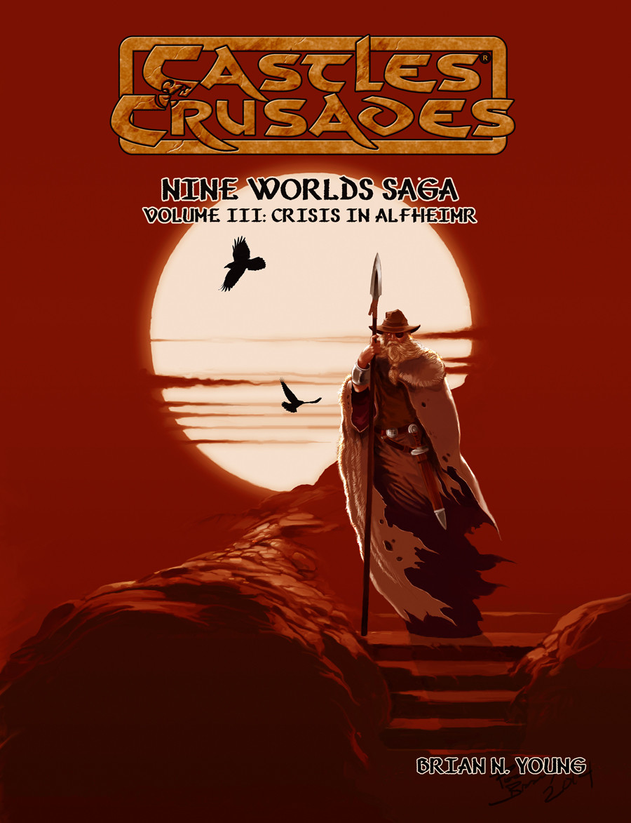 Castles & Crusades Nine Worlds Saga Volume III: Crises in Alfheimer