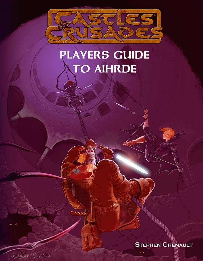 Castles & Crusades Players Guide to Aihrde Digital