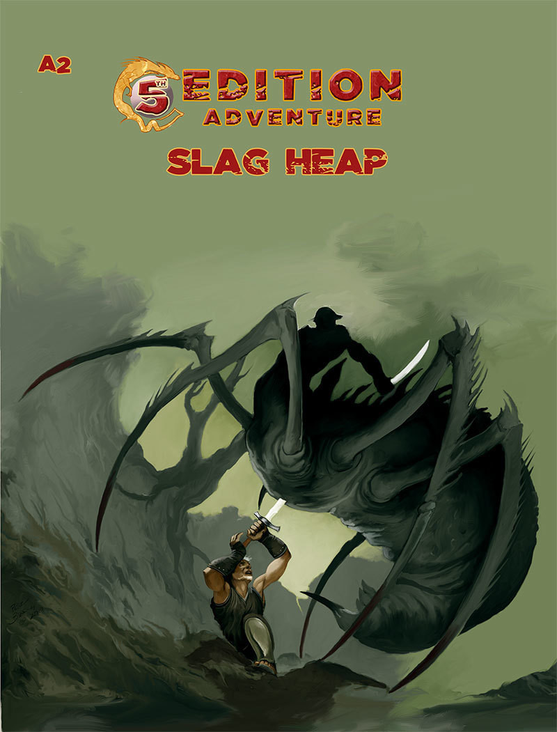 5th Edition Adventure A2 Slag Heap Digital
