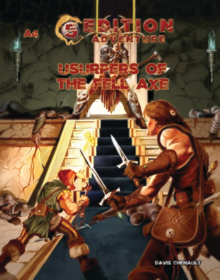 5th Edition A4 Usurpers of the Fell Axe Digital