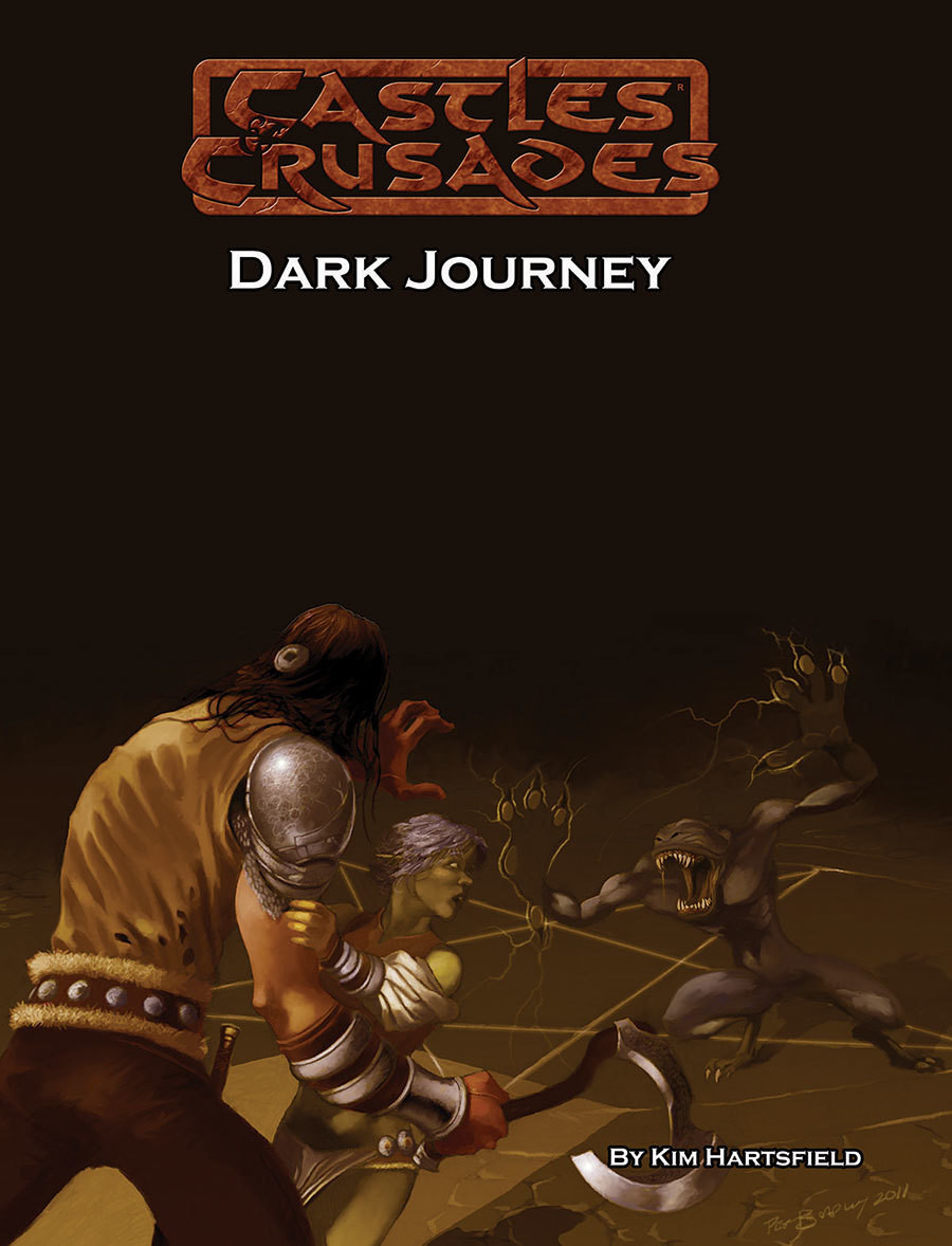 Castles & Crusades DA1 Dark Journey PD