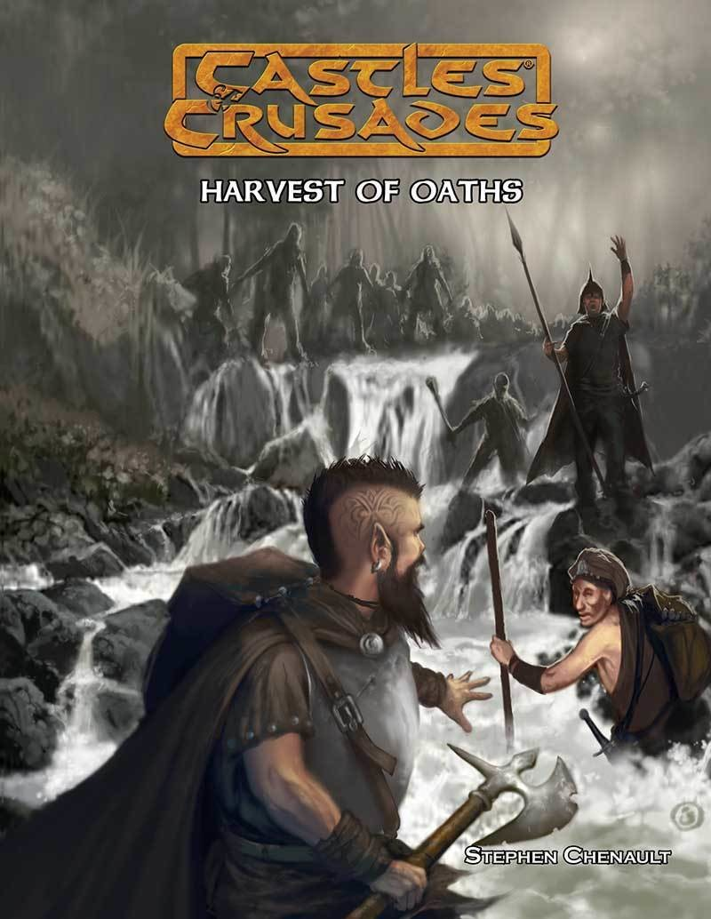 Castles & Crusades C4 Harvest of Oaths Print + Digital Combo
