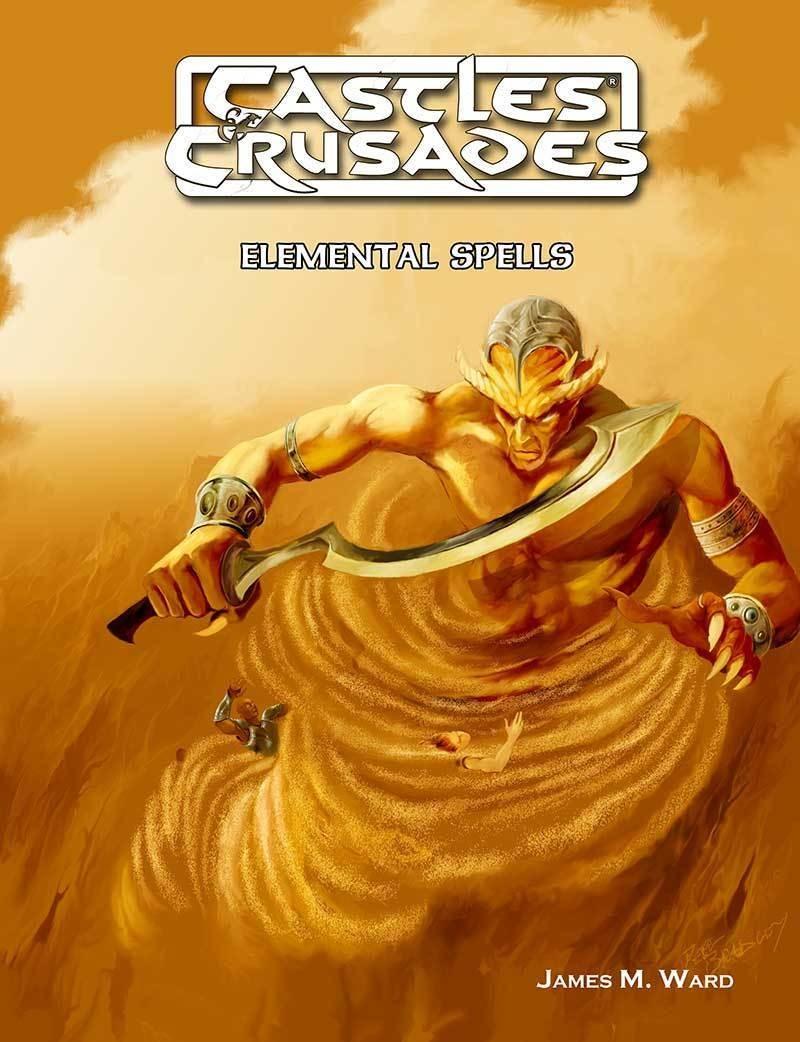 Castles & Crusades Elemental Spells Print + Digital Combo