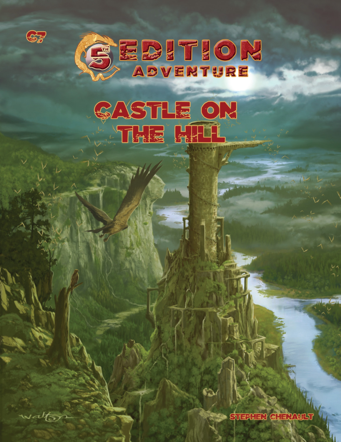 5th Edition: C7 Castle on a Hill -- Digital