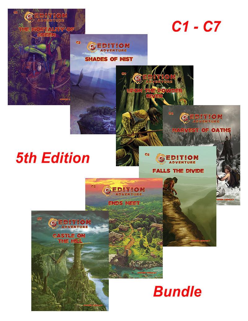 5th Edition C Series Bundle C1 - C7