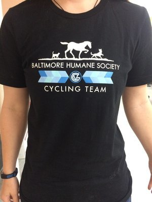 Baltimore Humane Society Good Velo Bike Club T-Shirt