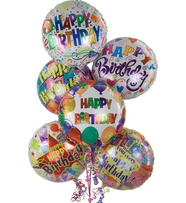 Balloons Birthday Bouquet (price per balloon)