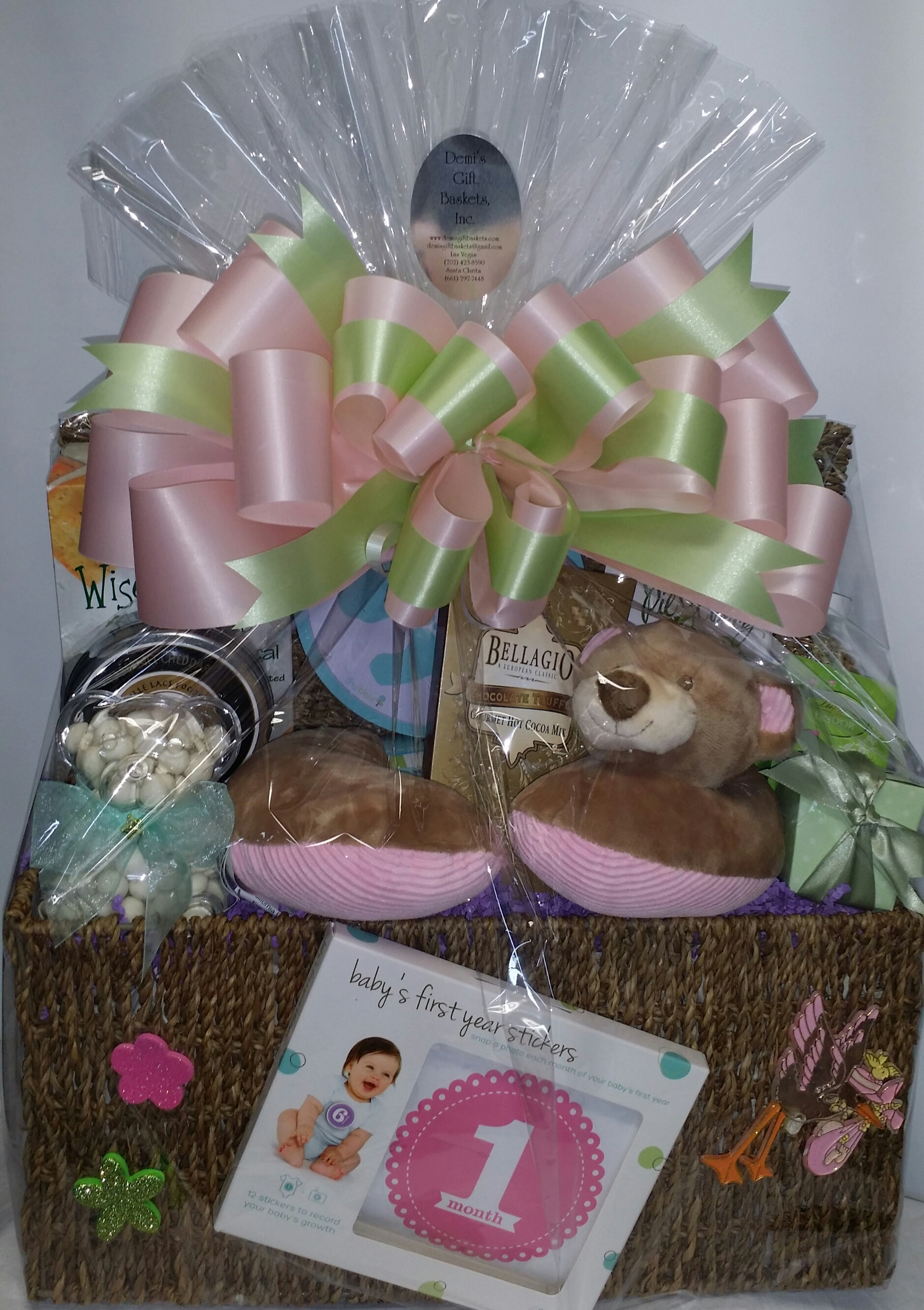 Large New Born Gift Basket BB-0004