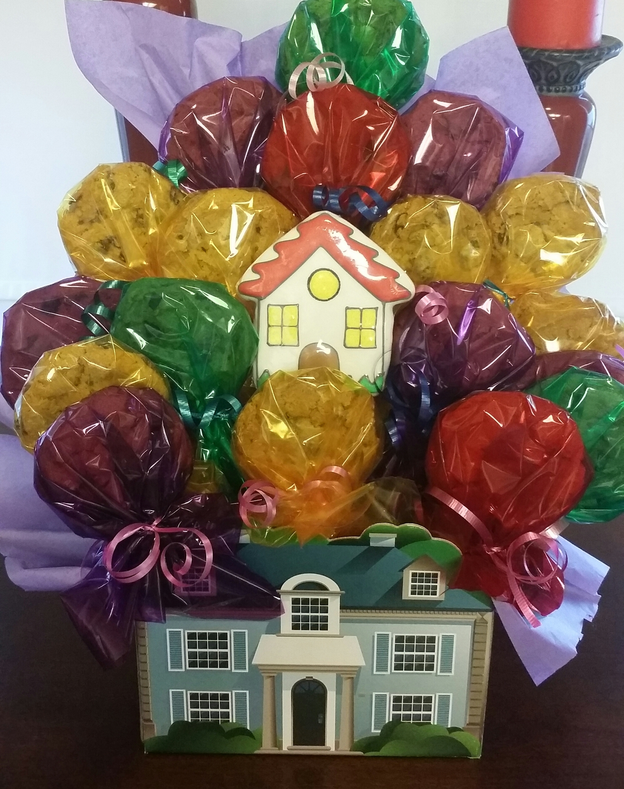 House Warming Cookies Bouquet HW-0017