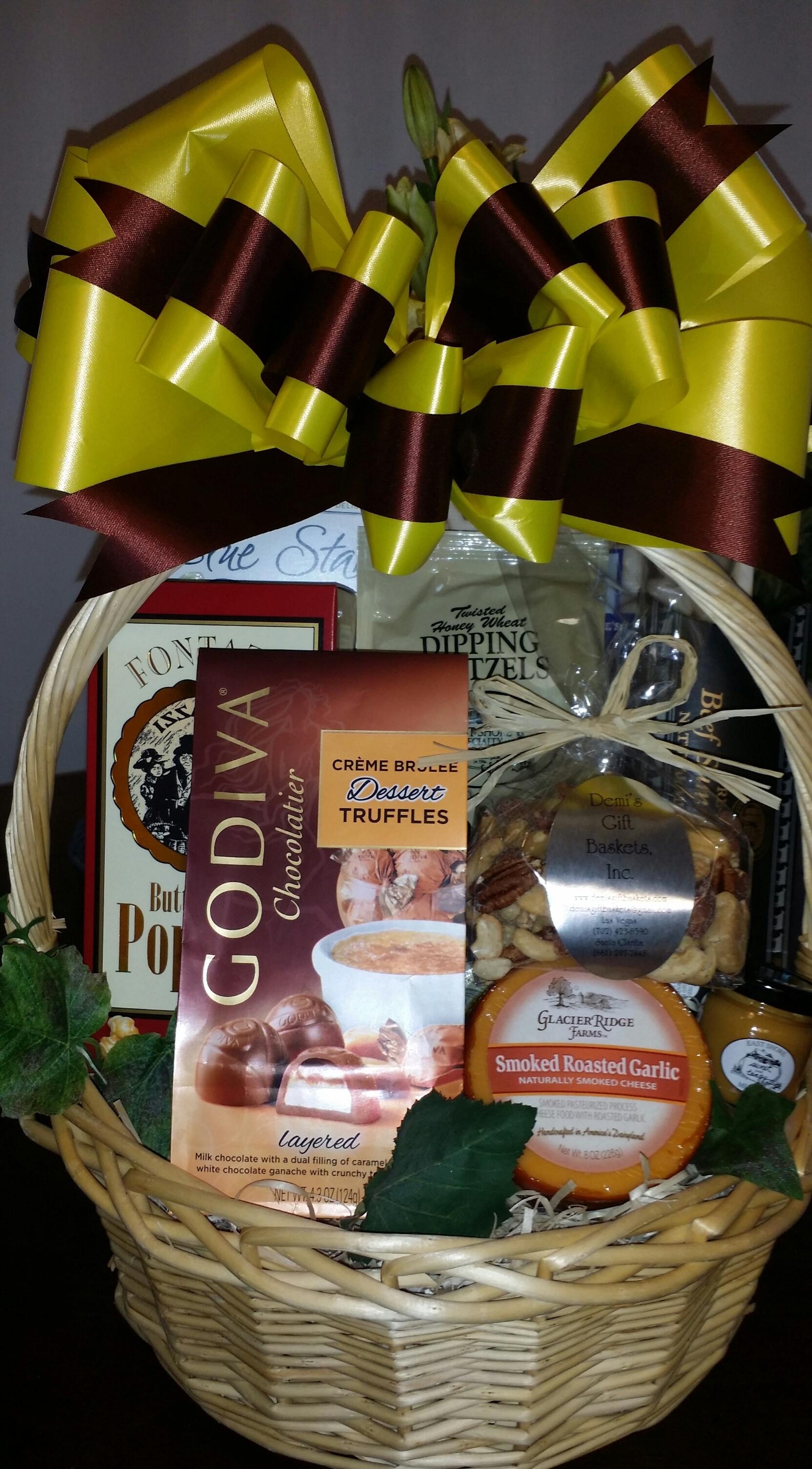 Gourmet Snack Basket GO-0025