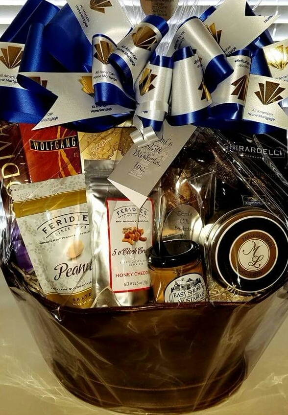 Tier Five - Deluxe Gourmet Gift Basket (no wine) TS-0004