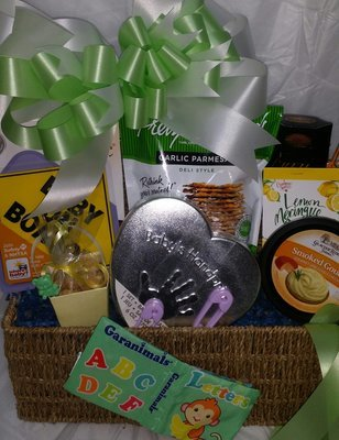 Baby gift baskets custom gift baskets same day las vegas delivery baby on board negle Gallery