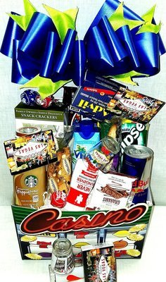 Demis gift baskets custom gift baskets same day las vegas delivery las vegas hangover basket negle Choice Image