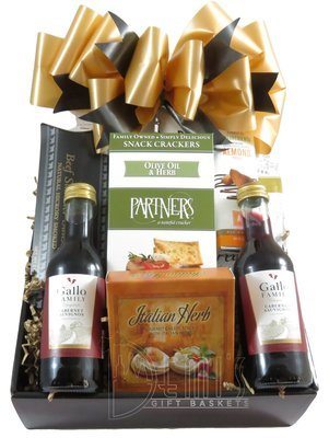 Wine: Mini Wine Snack box for Two