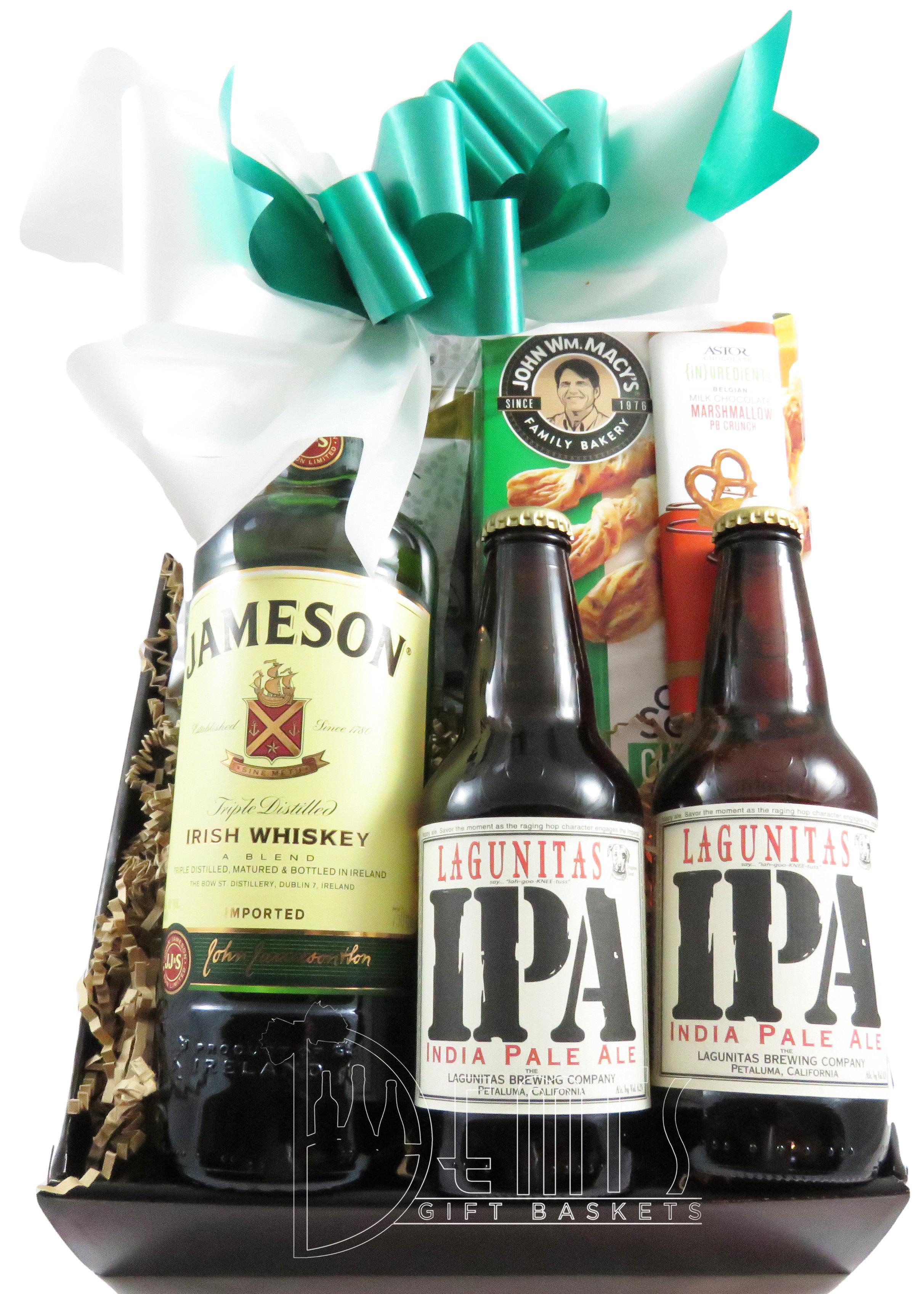 Irish Whiskey and Beer Snack box CSS-0033