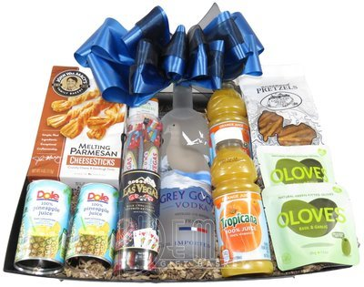 Liquor: Grey Goose Gift Basket (Large)