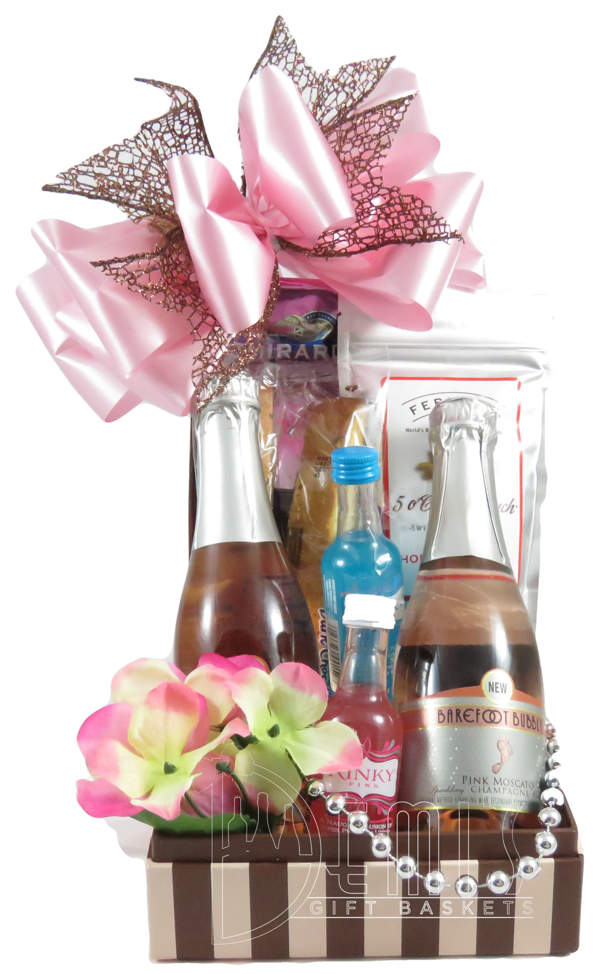Mini Pink Moscato Champagne for Two CSS-0038