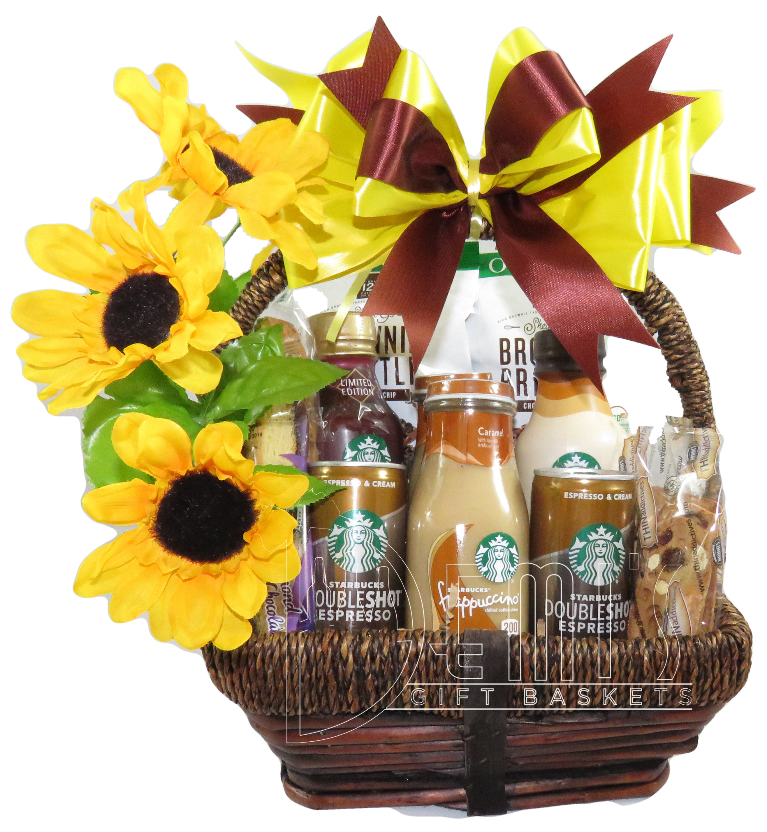 Starbucks Coffee Snack Gift Basket for Two CSS-0052