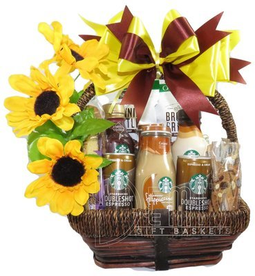 LV: Starbucks Coffee Snack Gift Basket for Two