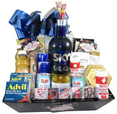 Liquor: Skyy Vodka Deluxe Goodies Tray