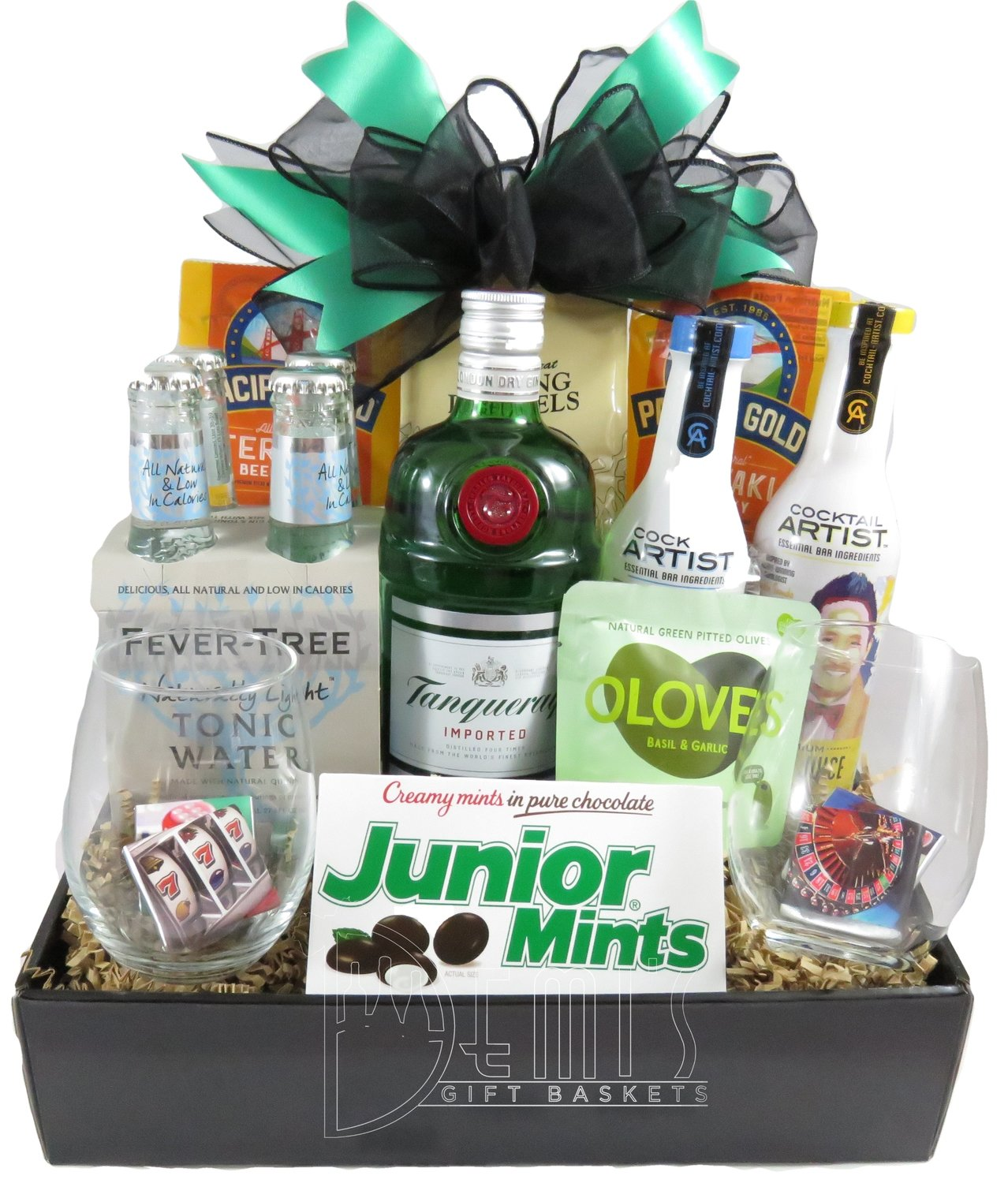 Liquor: Gin and Tonic Snack Box
