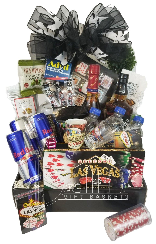 Bachelor Deluxe Gift Basket