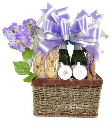 Champagne: Mimosa Gift Basket