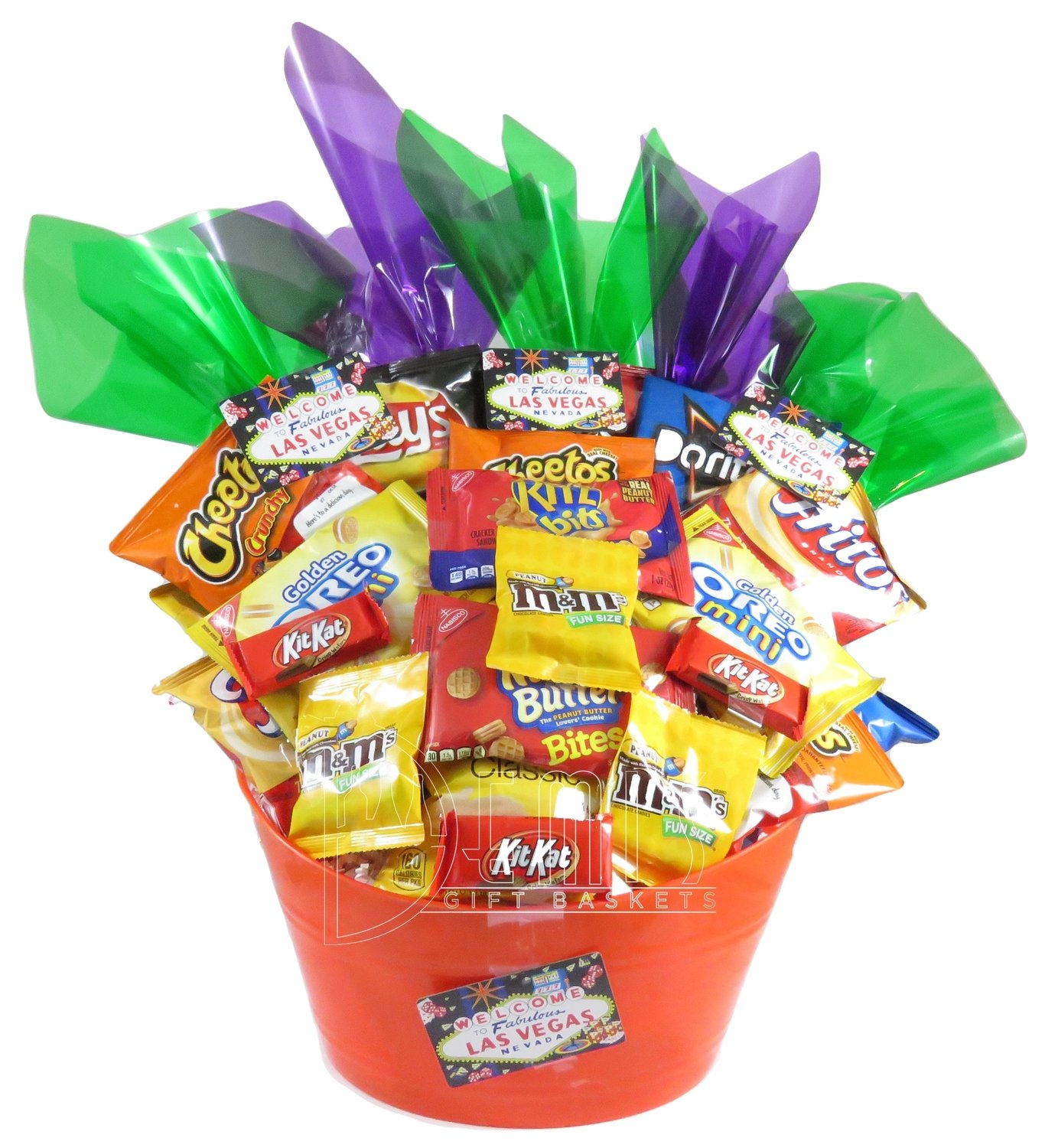 Junk Food Lovers Gift Basket