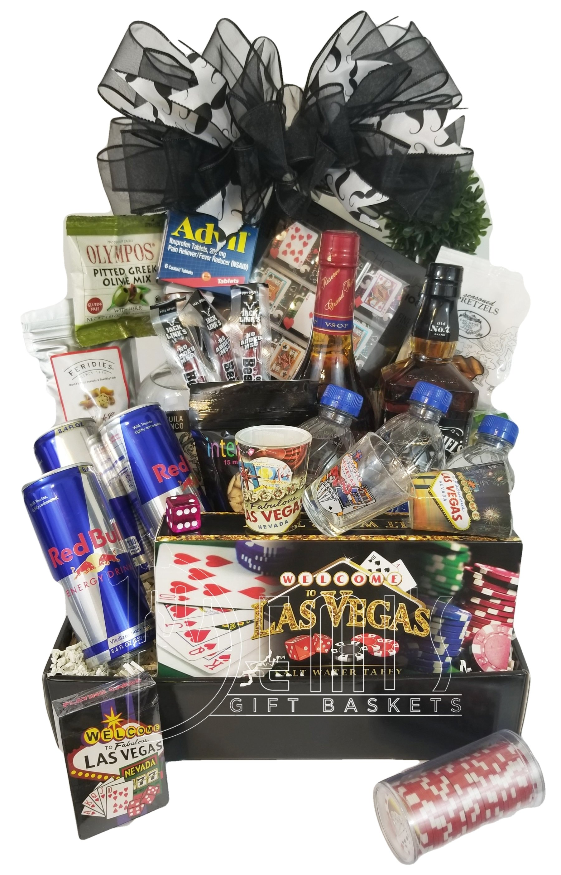 Deluxe Bachelor Gift Basket AL-0003