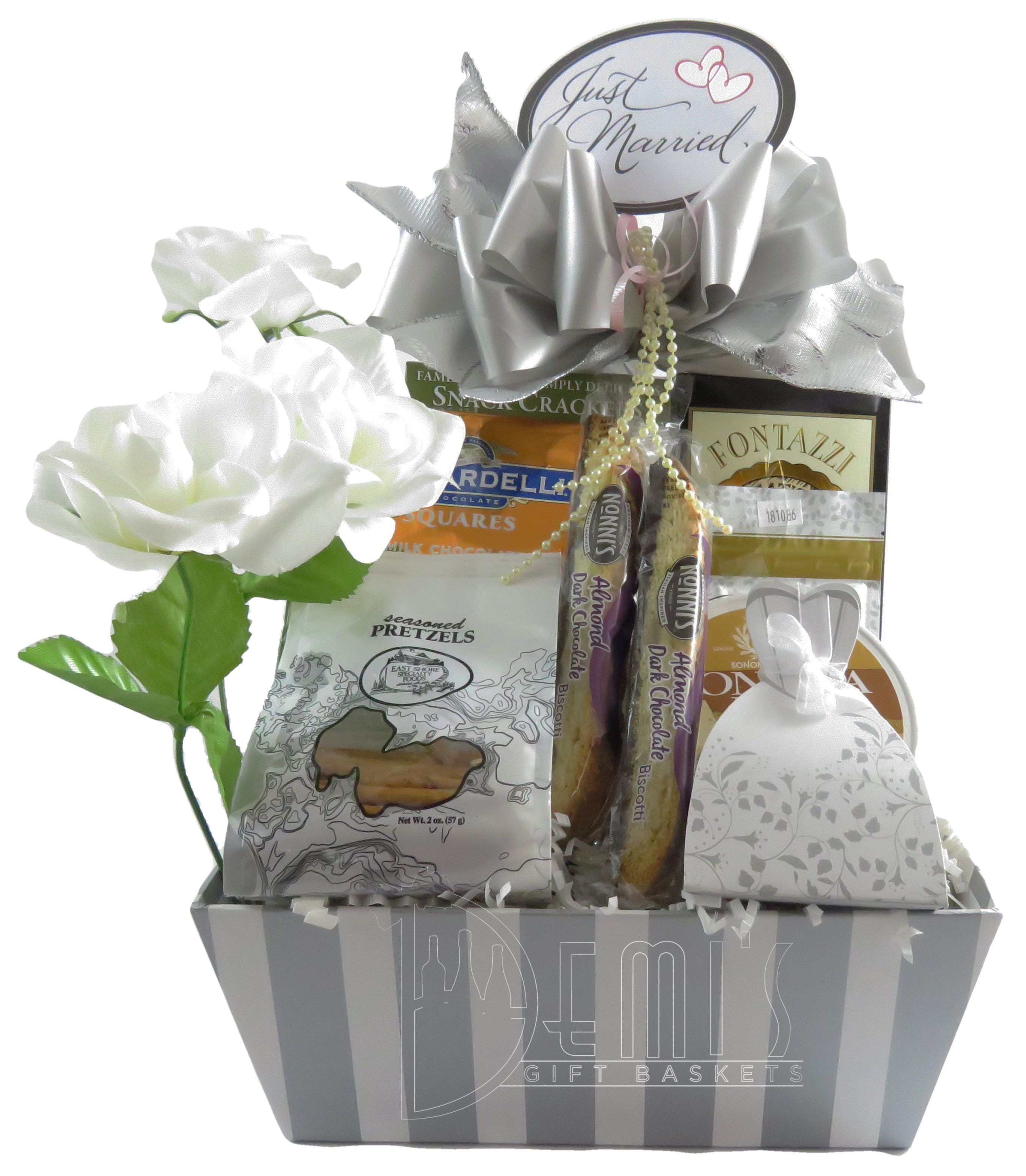 Gourmet Wedding Basket WD-0002