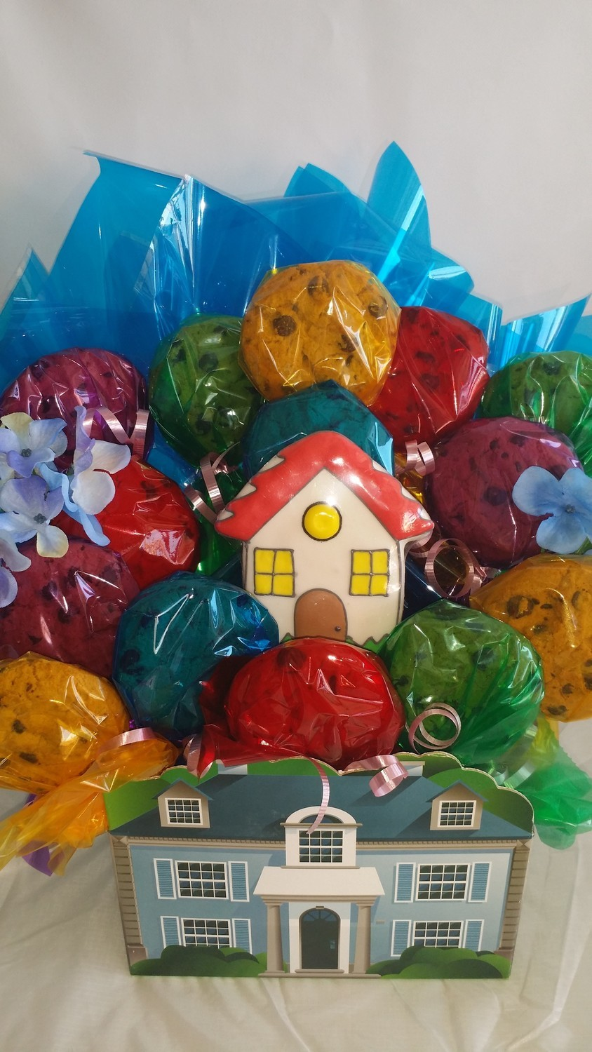 Home Sweet Home Cookies Bouquet
