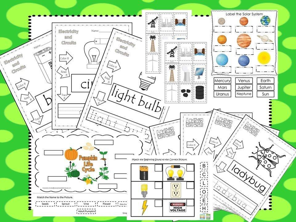 Preschool Science Curriculum Download. Preschool-Kindergarten ...