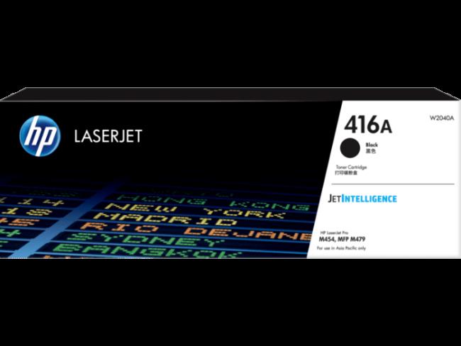 HP 416A 黑色原廠 LaserJet 碳粉 W2040A