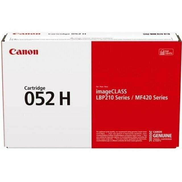 Canon Cartridge 052H 高打印量黑色原裝打印機碳粉盒 CRG052H