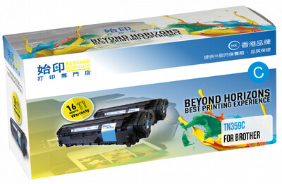 StartPrint Brother TN359 高打印量藍色 優質代用碳粉匣 TN359C