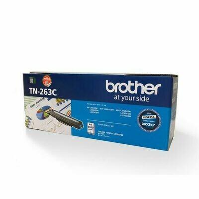 Brother TN263 C 青色原裝碳粉盒 TN263C
