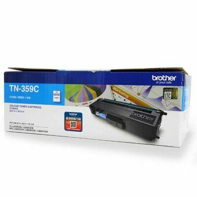 Brother TN359 C 青色高容量原裝碳粉盒 TN359C