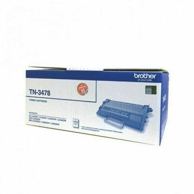 Brother TN3478 黑色高容量原裝碳粉盒 TN3478