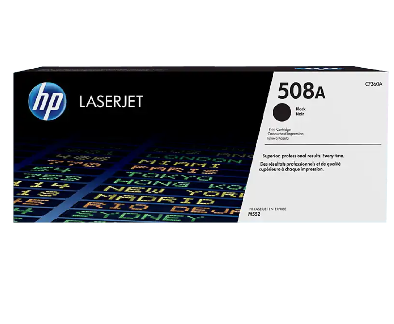 HP 508A 黑色原廠 LaserJet 碳粉 CF360A
