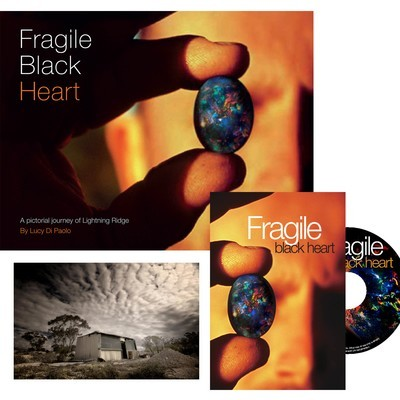 Fragile Black Heart Book and DVD Combo