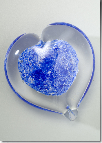 Boundless Glass Heart Memorials