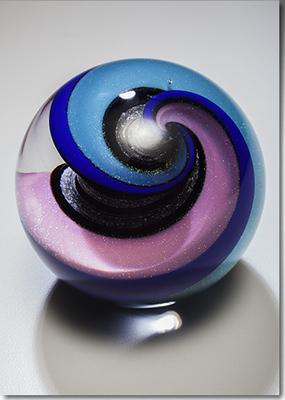 Celestial Marble Memorial Glass