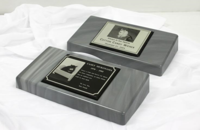 Remembrance  Memorial & Metal Photo Plaque