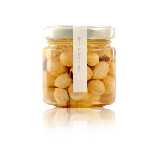 Miele di acacia e Nocciole 115 gr