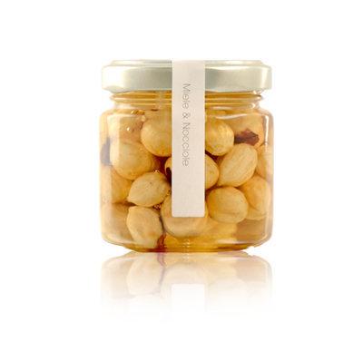 Miele di acacia e Nocciole 225 gr