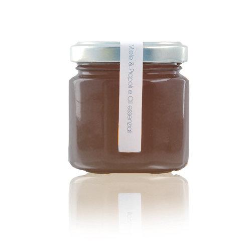 Miele Propoli e Oli essenziali 130 gr