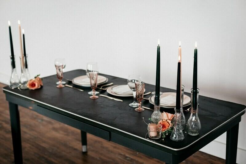 Vintage Rubber Table