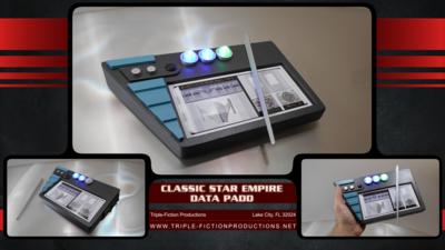 Classic Star Empire Data Padd
