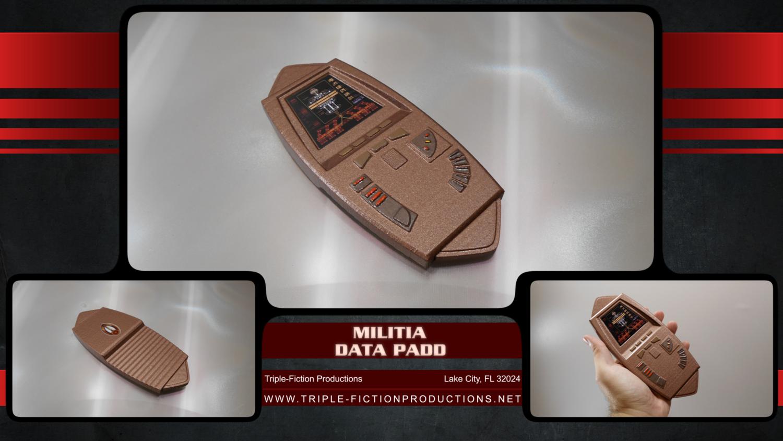 Militia Data Padd